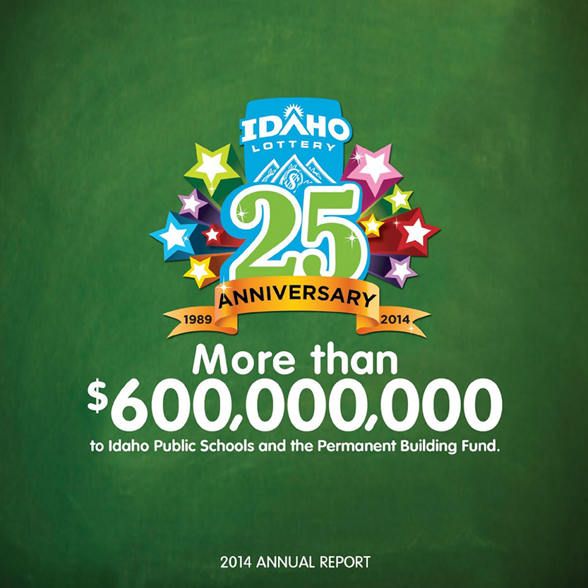 2014 Idaho Lottery Annual Report (Cover)
