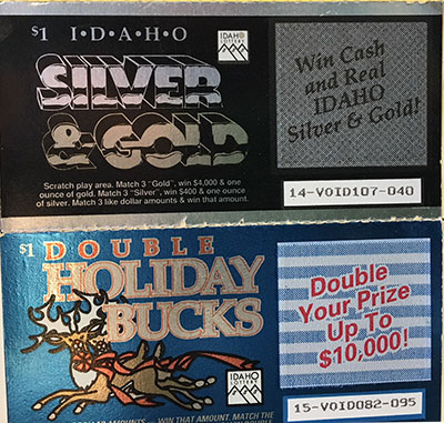 Top Twelve Scratch Off Lottery Ticket Codes Idaho {Kwalai}