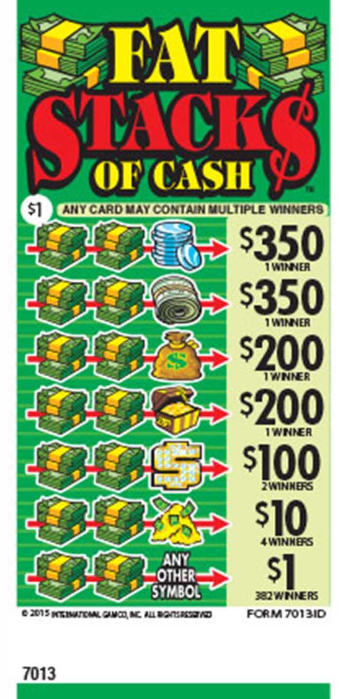 Fat Stack$ of Cash | Idaho Lottery