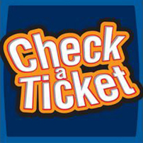 Check A Ticket Icon